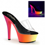 Scarpe Pleaser Rainbow-201UV/C/NMC